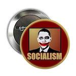 """Socialism Joker 2.25"""" Button (10 pack)"""
