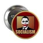 """Socialism Joker 2.25"""" Button"""