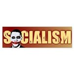 Socialism Joker Bumper Sticker