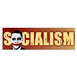 Socialism Joker Bumper Sticker