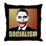 Socialism Joker Throw Pillow