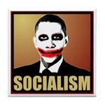 Socialism Joker Tile Coaster