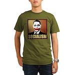 Socialism Joker Organic Men's T-Shirt (dark)
