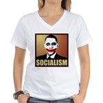 Socialism Joker Women's V-Neck T-Shirt