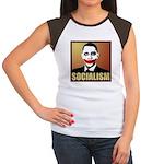Socialism Joker Women's Cap Sleeve T-Shirt