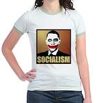 Socialism Joker Jr. Ringer T-Shirt