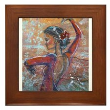 The Dancer Series Framed Tile