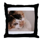 Calico Cat Throw Pillow