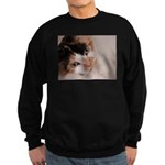 Calico Cat Sweatshirt (dark)