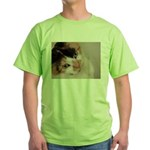 Calico Cat Green T-Shirt