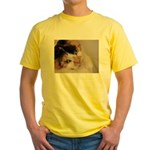 Calico Cat Yellow T-Shirt