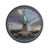 Liberty Clouds Wall Clock