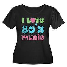 I Love 80's Music T