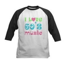 I Love Sixties Music Tee