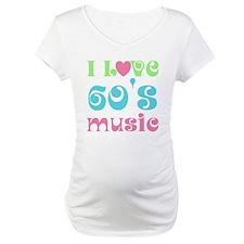 I Love Sixties Music Shirt