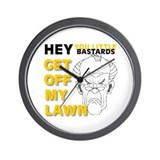 Funny Stuff for Seniors Wall Clock