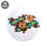 "Life is a Bowl of Cherries... 3.5"" Button (10 pack"