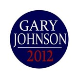 "Gary Johnson 2012 3.5"" Button"