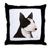 9 ENGLISH BULL-TERRIER Throw Pillow