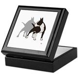10 ENGLISH BULL-TERRIER Keepsake Box