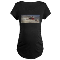 Reprise Skies Maternity Dark T-Shirt