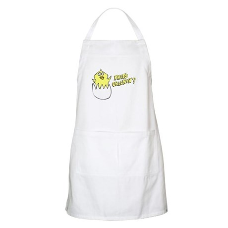 What's Crackin' BBQ Apron