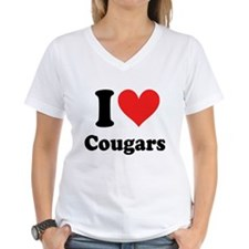 I Heart Cougars: Shirt