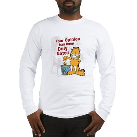 Duly Noted Long Sleeve T-Shirt