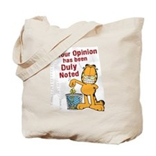 Duly Noted Tote Bag