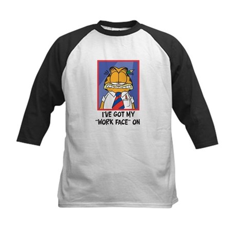 Work Face Kids Baseball Jersey