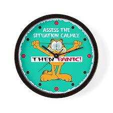 Then Panic Wall Clock