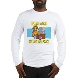 It's Not Logical Long Sleeve T-Shirt