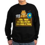 Waste My Time Sweatshirt (dark)