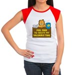 Waste My Time Women's Cap Sleeve T-Shirt
