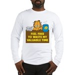 Waste My Time Long Sleeve T-Shirt