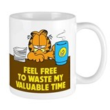 Waste My Time Small Mug