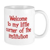 Welcome to the Institution Small Mugs