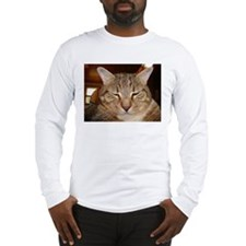 Tabby Tiger Cat Long Sleeve T-Shirt