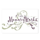 MemoryWorks Flourish Postcards (Package of 8)