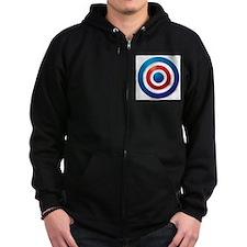 British Bullseye Zip Hoodie