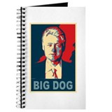 Bill Clinton Big Dog Pop Art Journal