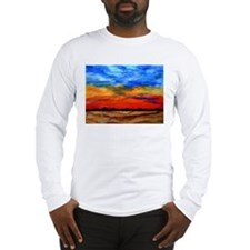 Cute Sunset clouds Long Sleeve T-Shirt
