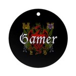 Gamer Ornament (Round)