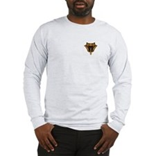 Copperheads Long Sleeve Gray T-Shirt