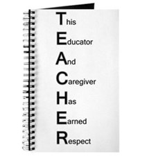 Teacher Respect Journal