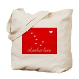 Alaska Love Tote Bag