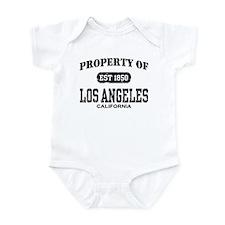 Property of Los Angeles Infant Bodysuit