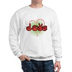 Love with Heart Sweatshirt