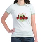 Love with Heart Jr. Ringer T-Shirt