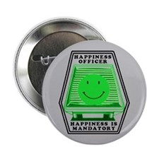 "Happiness Officer (G) 2.25"" Button"